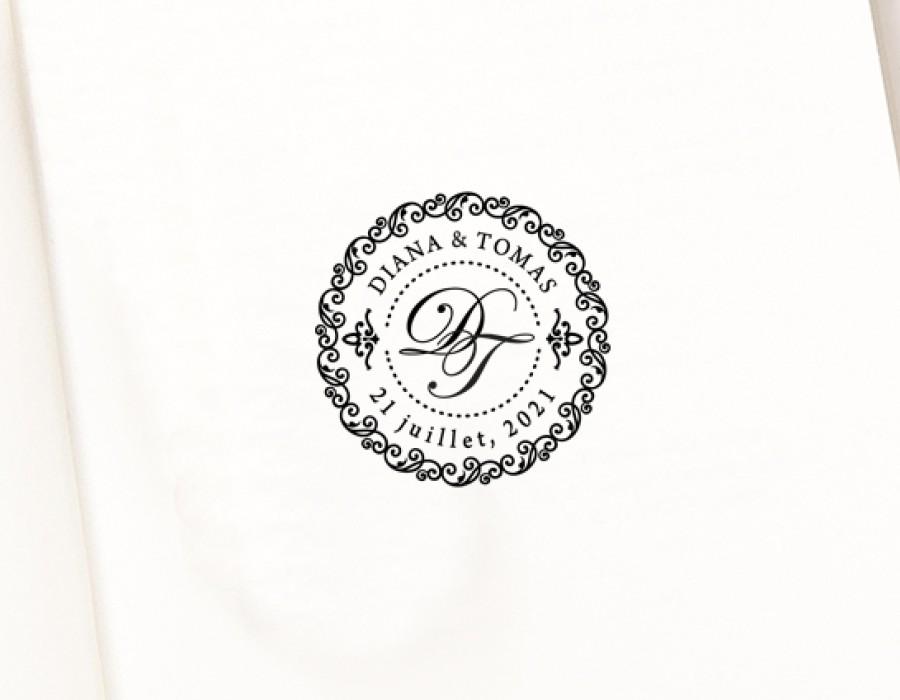 Antspaudas Jauniesiems Monograma (W-5002)
