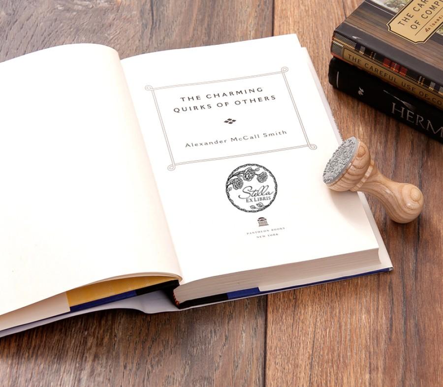 Ex libris Antspaudas Rožės (E-5025)